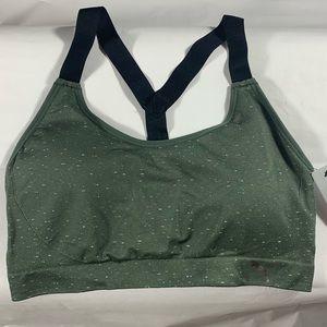 NWT Puma Women's Heather Olive Sports Bra Size XL